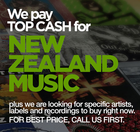 Top Cash paid for NEW ZEALAND Music, Artists and Labels. Call us today and our buyers will come to you.