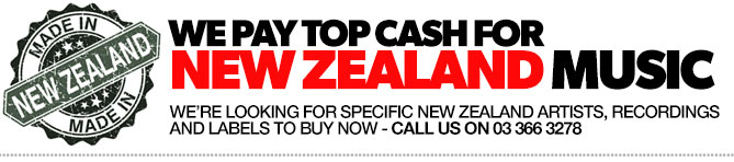 We are buying New Zealand Vinyl Music - Records, Labels and Memorabilia. If you a selling -WE ARE BUYING, FOR TOP CASH PRICES